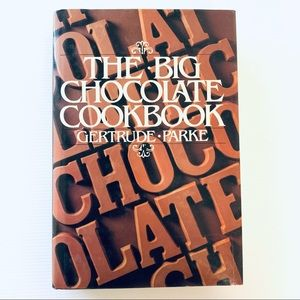 The Big Chocolate Cookbook Cook Book Gertrude Parke 1968 Recipes Hardcover